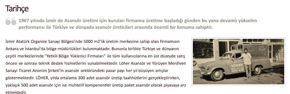 Löher Asansör İzmir
